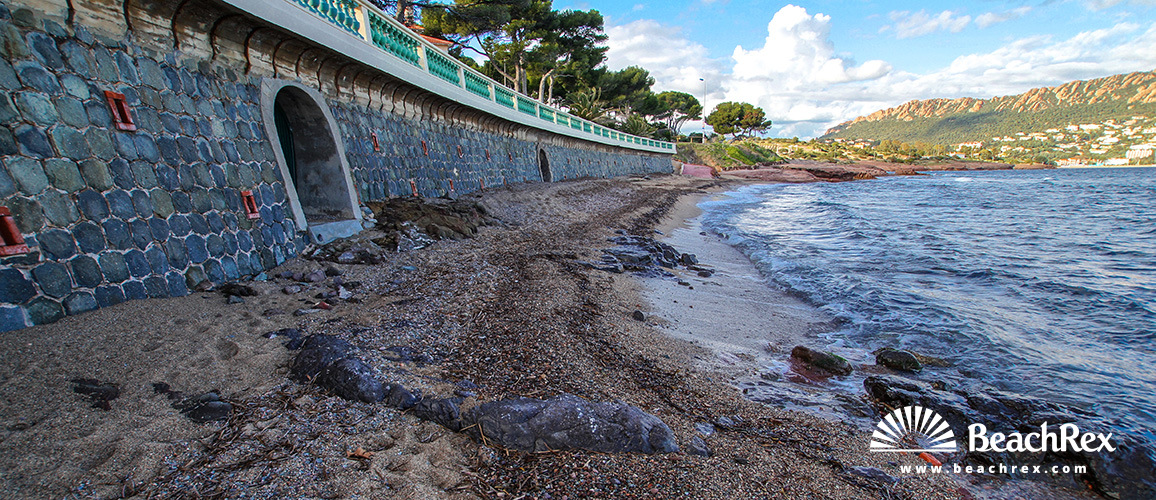 France - Var -  Saint-Raphaël - Beach Longues