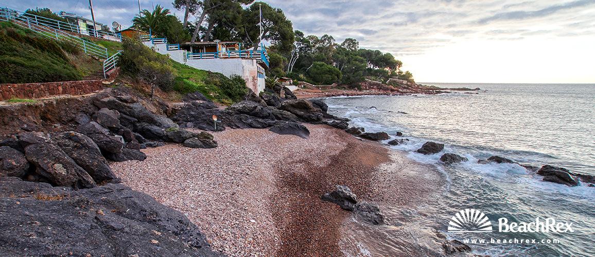 France - Var -  Saint-Raphaël - Beach de Pierre Blave