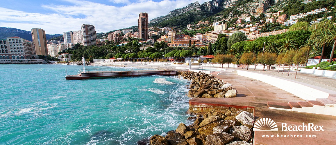 beach monte carlo roquebrune cap martin alpesmaritimes france. Black Bedroom Furniture Sets. Home Design Ideas