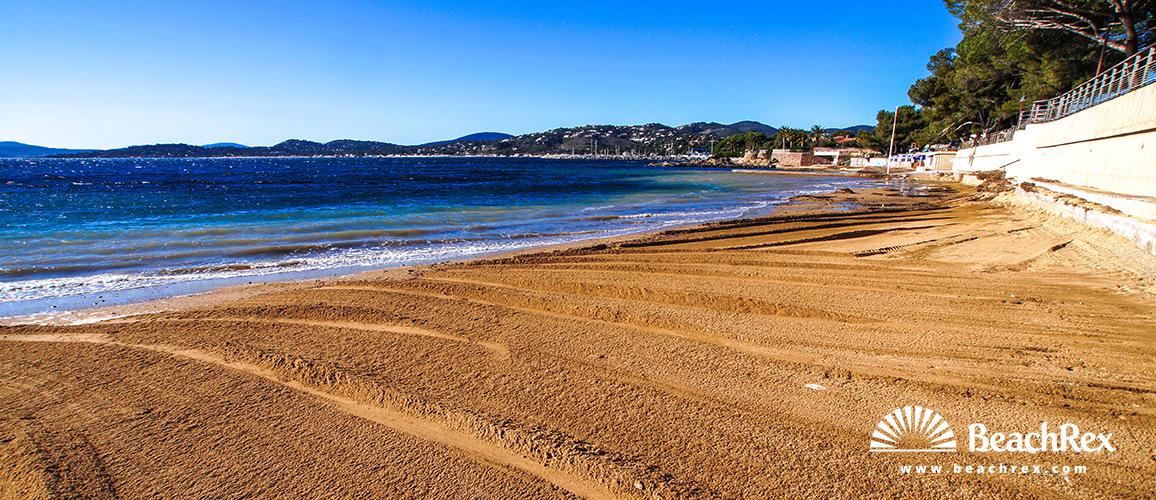 France - Var -  Roquebrune-sur-Argens - Beach de San Peire