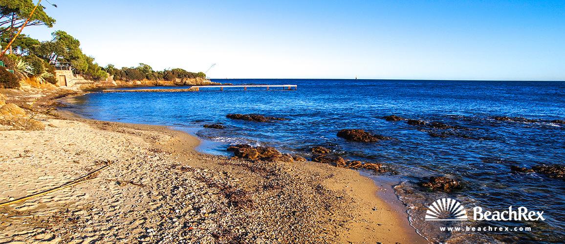 France - Var -  Sainte-Maxime - Beach de l'Ancienne Batterie