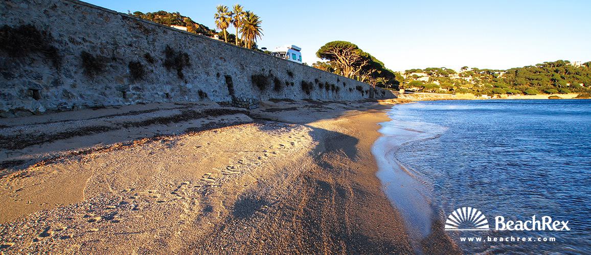 France - Var -  Sainte-Maxime - Beach de la Madrague