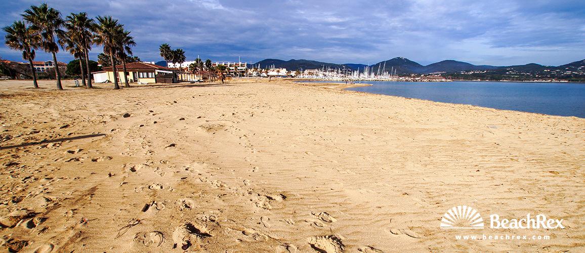 France - Var -  Cogolin - Beach Marina Cogolin