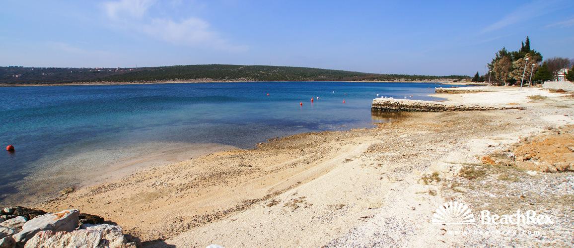 Croatia - Dalmatia  Zadar -  Crna Punta - Beach Crna Punta