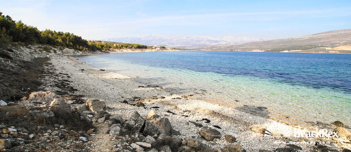 Croatia - Dalmatia  Zadar -  Pridraga - Beach Bukva
