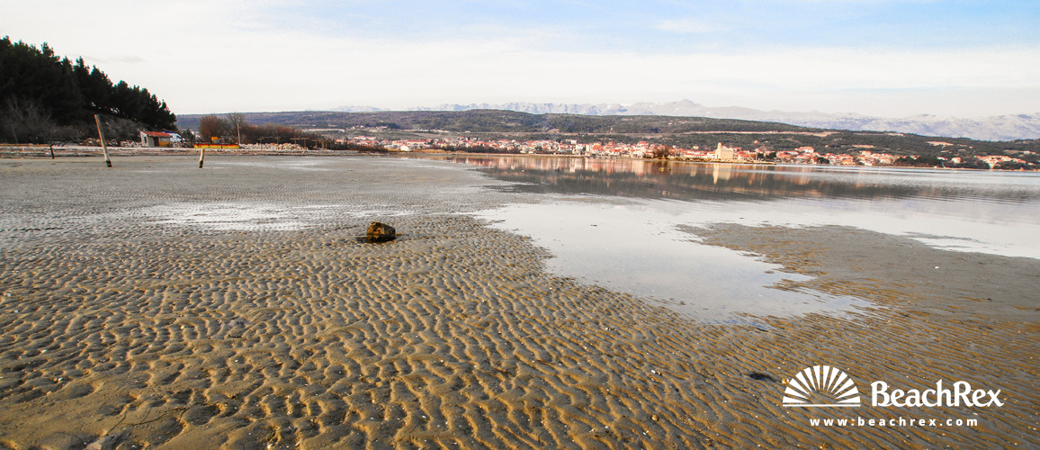 Croatia - Dalmatia  Zadar -  Posedarje - Beach  Sveti Duh