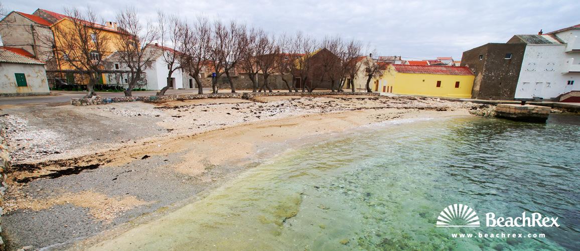 Croatia - Dalmatia  Zadar -  Ražanac - Beach Ražanac