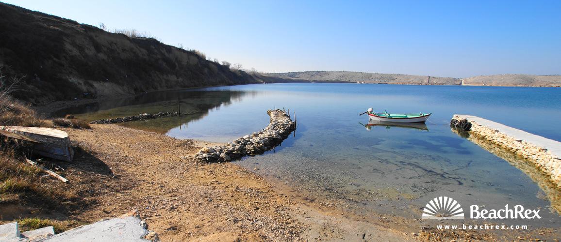 Croatia - Dalmatia  Zadar -  Vrsi - Beach Jasenovo