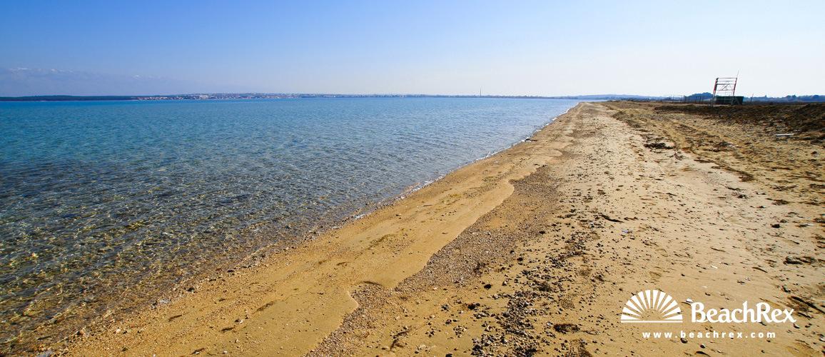 Croatia - Dalmatia  Zadar -  Nin - Beach Kraljičina
