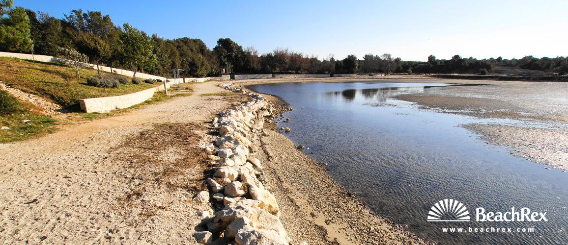 Croatia - Dalmatia  Zadar -  Zaton - Beach Pliše