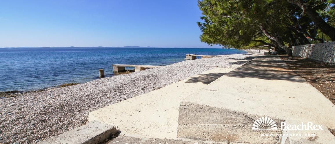 Hrvatska - Dalmacija  Zadar -  Petrčane - Plaža Pineta