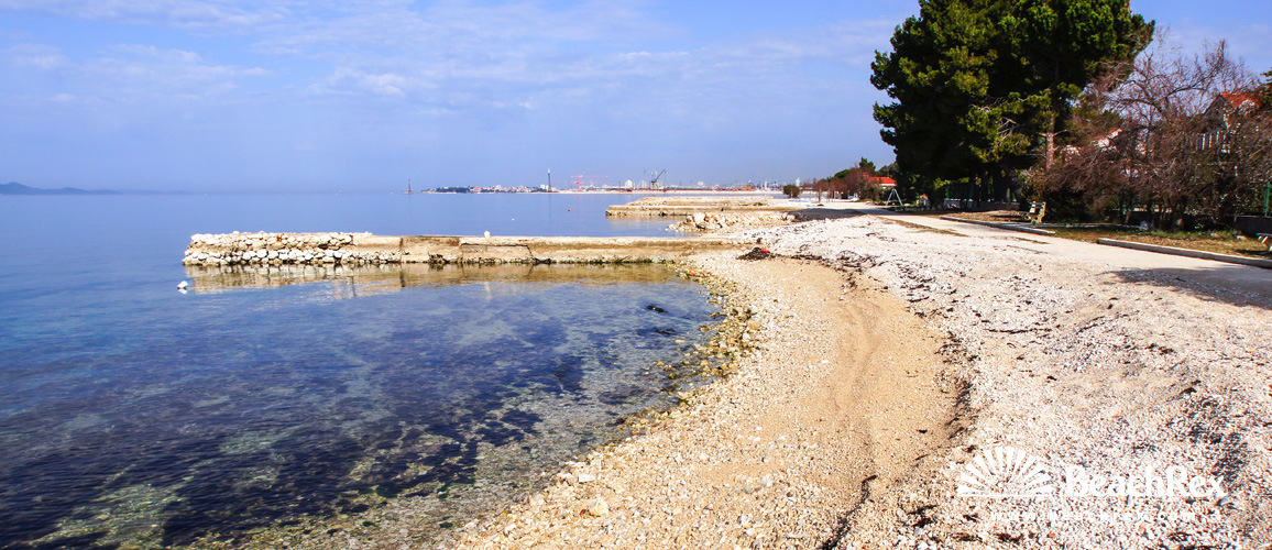 Croatia - Dalmatia  Zadar -  Bibinje - Beach Bibinje