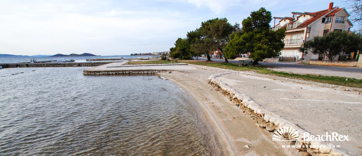 Croatia - Dalmatia  Zadar -  Turanj - Beach Krča