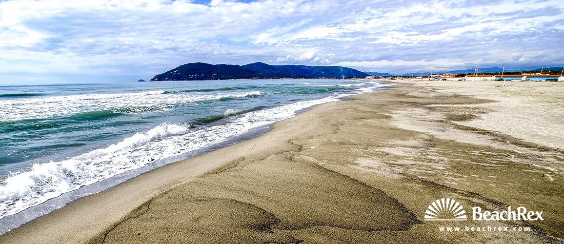 Italy - Toscana -  Carrara - Beach Marina di Carrara