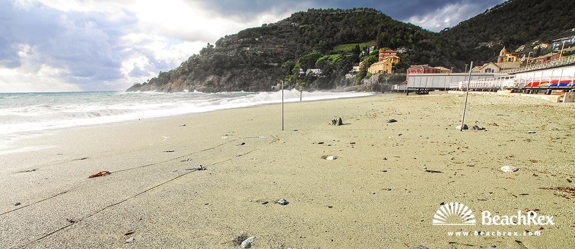 Italy - Liguria -  Bonassola - Beach Bonassola