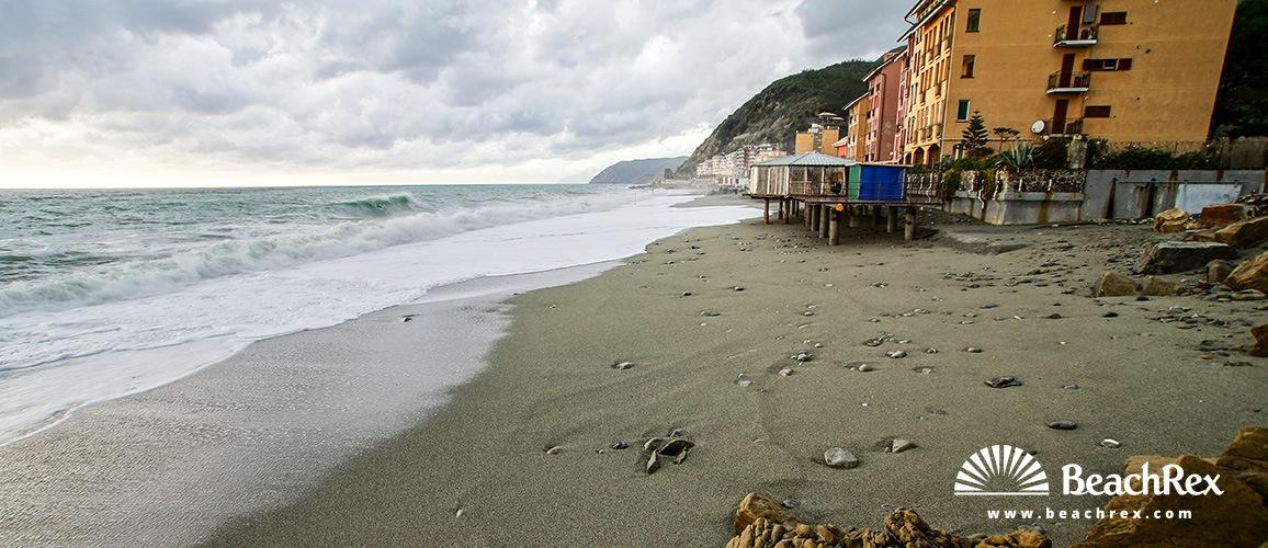 Italy - Liguria -  Deiva Marina - Beach Deiva Marina