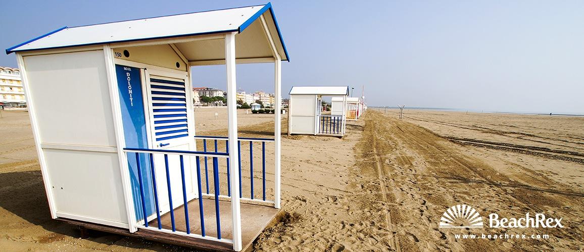 Italy - Veneto -  Caorle - Beach Levante