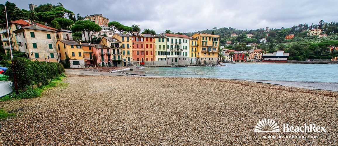 Italy - Liguria -  Rapallo - Beach San Michele