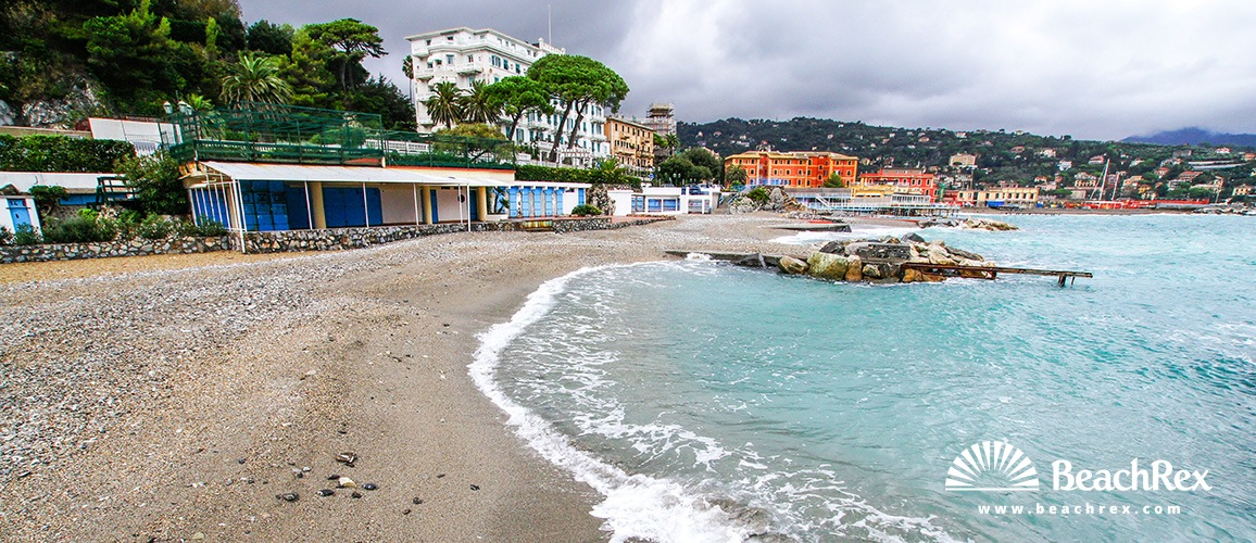 Italy - Liguria -  Santa Margherita Ligure - Beach Santa Margherita