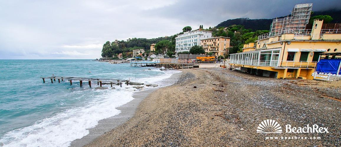 santa margherita ligure beach