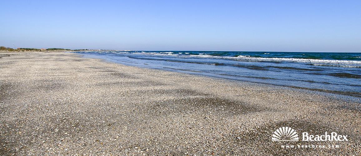 Italy - Veneto - island Lido -  Alberoni - Beach Alberoni