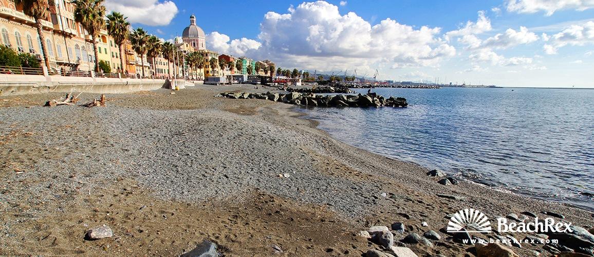Italy   Liguria   Genova   Beach Pegli