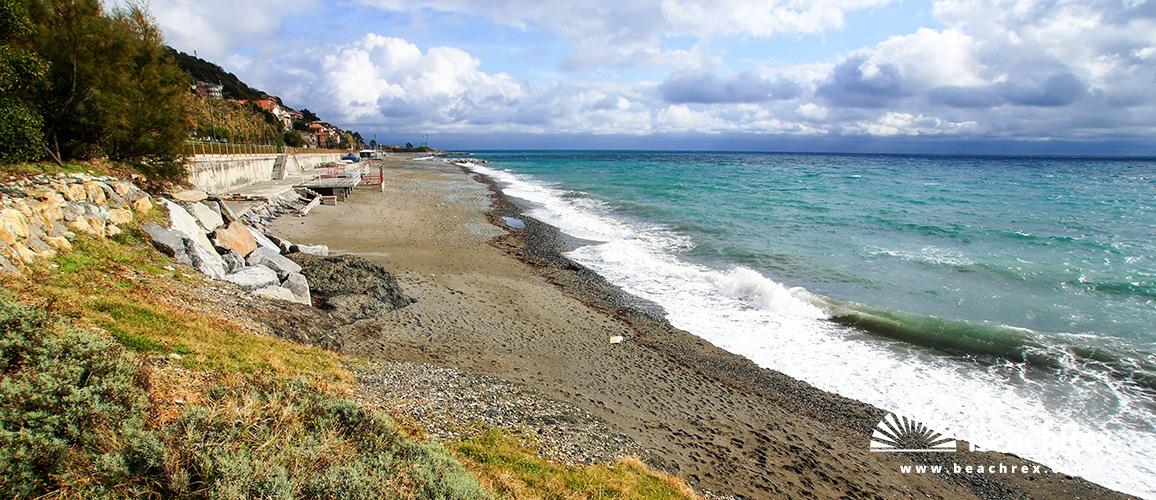 Italy - Liguria -  Cogoleto - Beach Aurelia