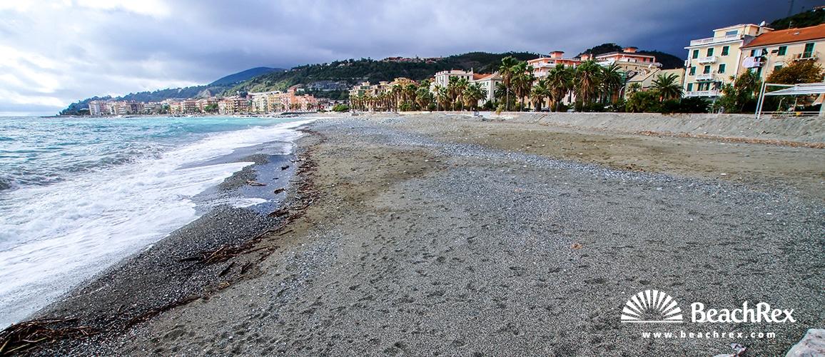 Italy - Liguria -  Cogoleto - Beach Gilberto