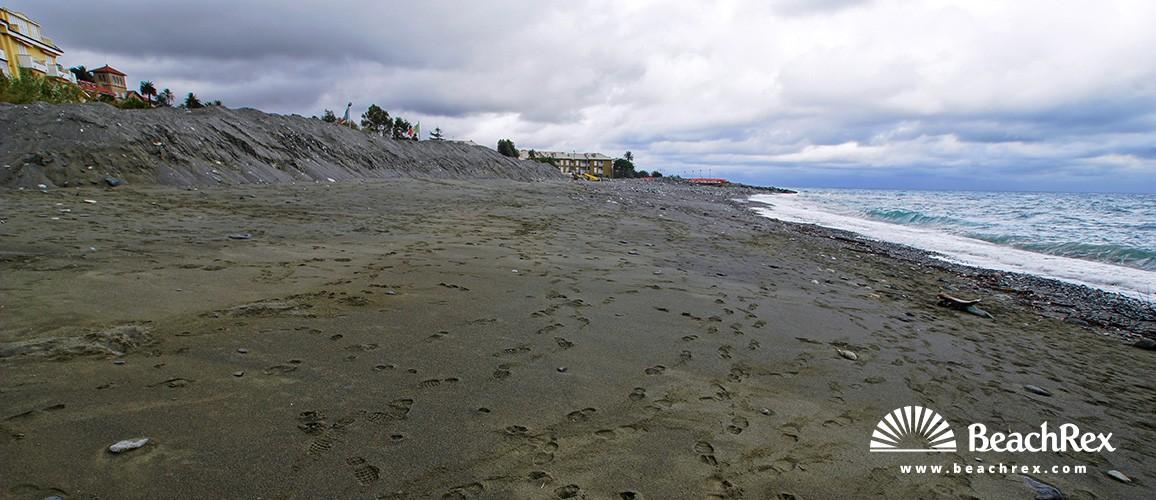 Italy - Liguria -  Cogoleto - Beach Mulinetto
