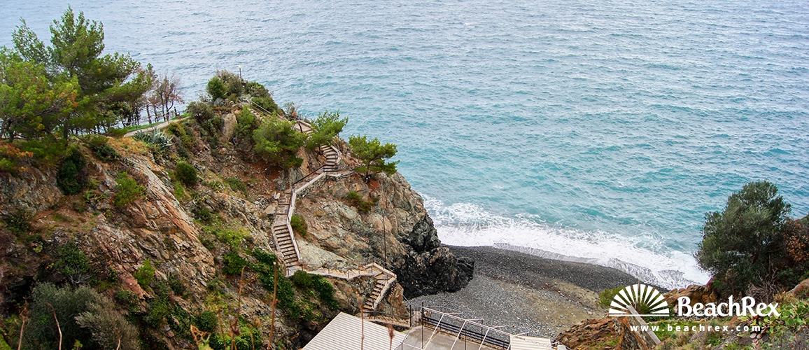 Italy - Liguria -  San Giacomo - Beach Cala Loca