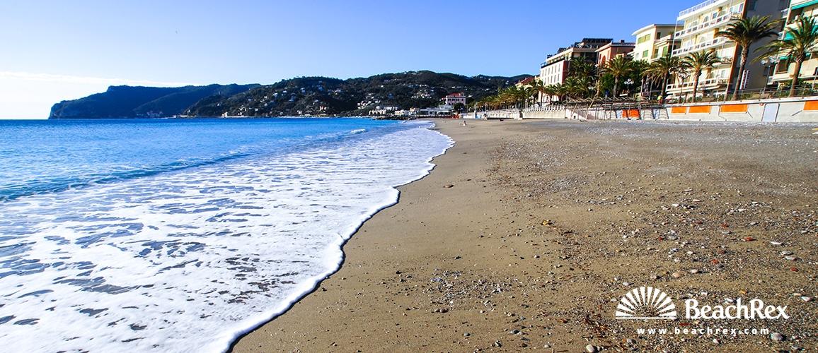 Italy - Liguria -  Spotorno - Beach Spotorno