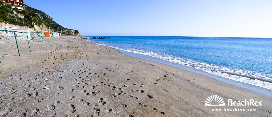 Italy - Liguria -  Borgio - Beach Borgio Verezzi
