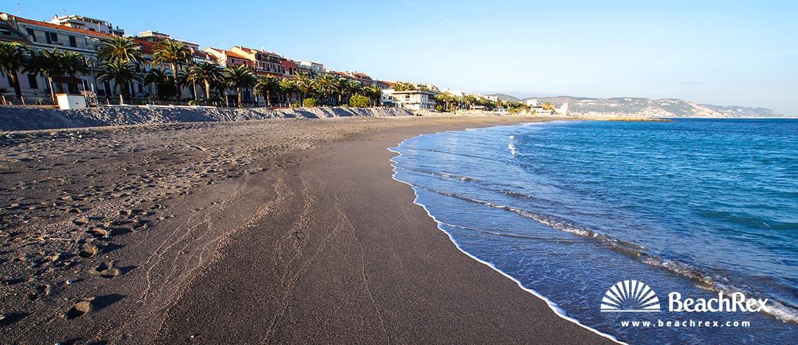 Italy - Liguria -  Loano - Beach Loano