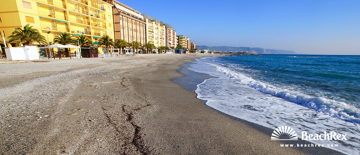 Italy - Liguria -  Borghetto Santo Spirito - Beach Borghetto