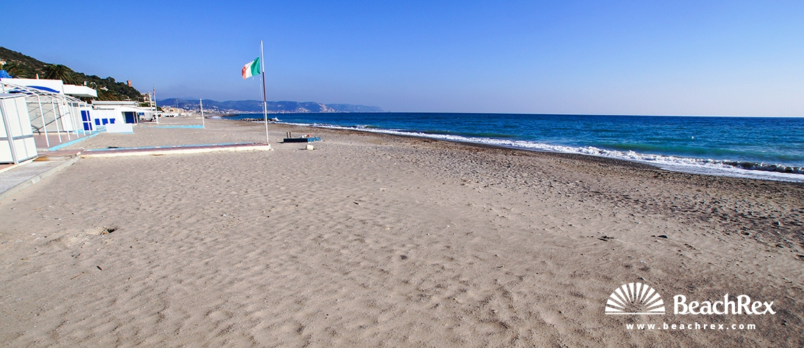 Italy - Liguria -  Ceriale - Beach Ceriale