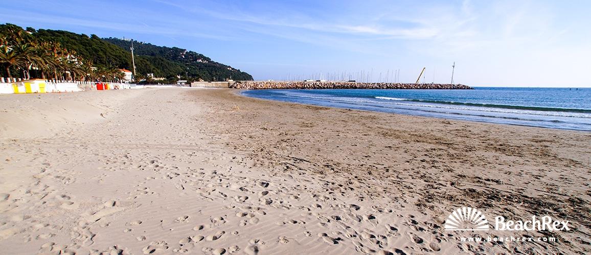 Italy - Liguria -  Marina di Andora - Beach Andora