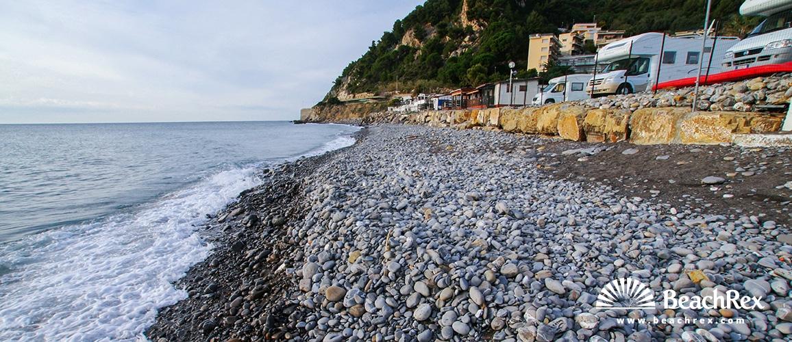 Italy - Liguria -  Diano Marina, - Beach Landini
