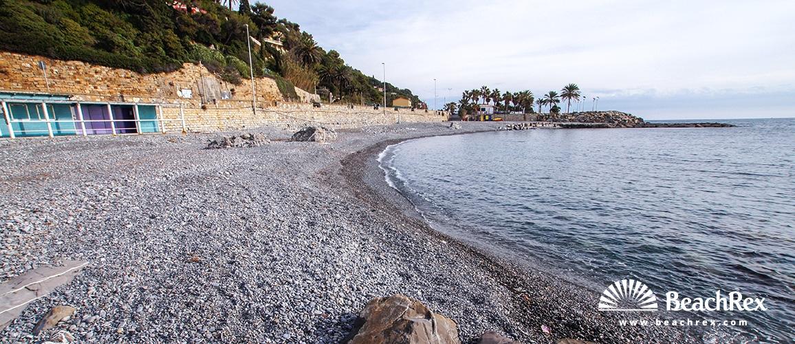 Italy - Liguria -  Imperia - Beach Novaro