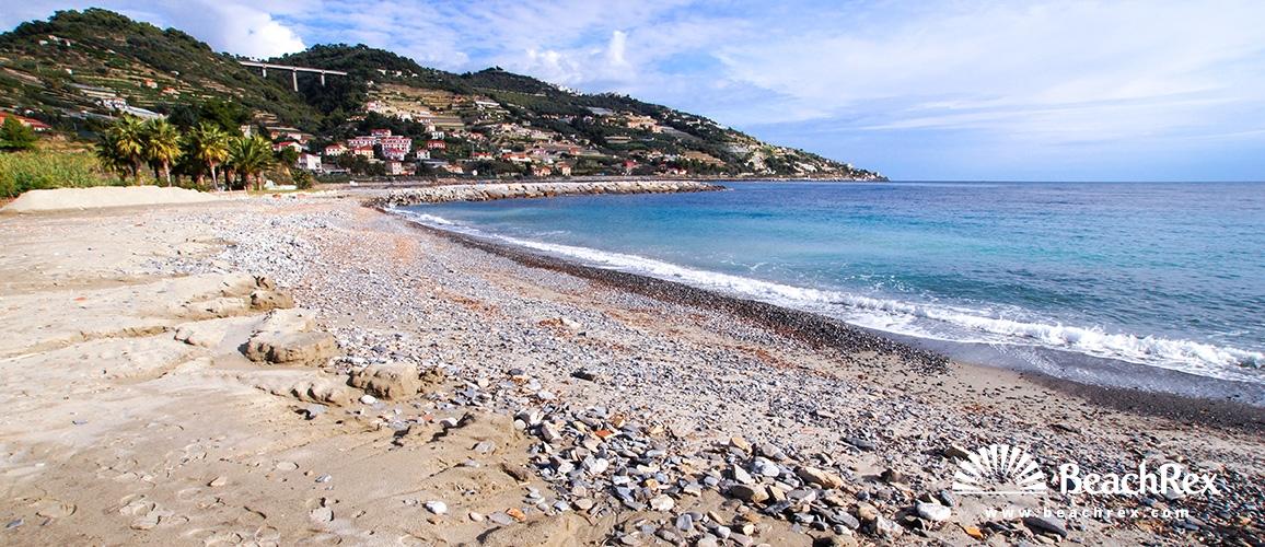 Italy - Liguria -  Aregai - Beach Marina Aregai