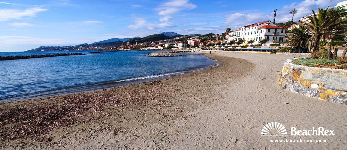 Italy - Liguria -  Santo Stefano al Mare - Beach Santo Steano