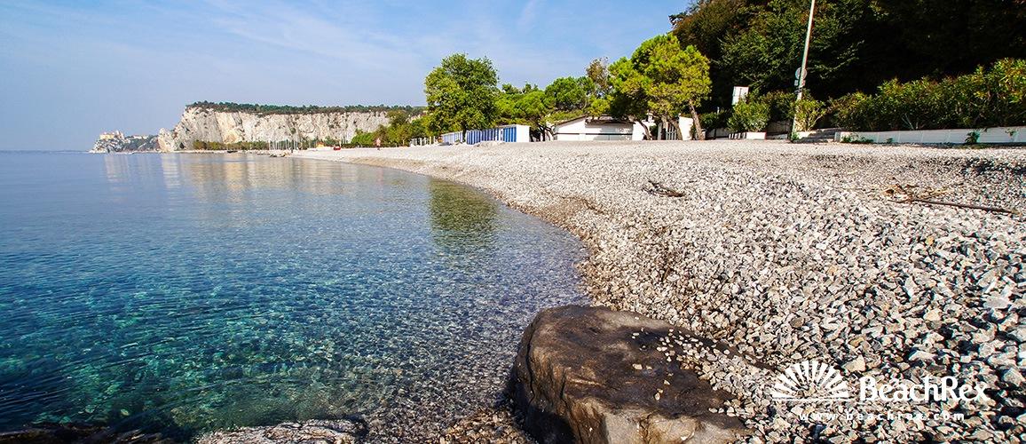 Italy - FriuliVenezia Giulia -  Sistiana - Beach Castelreggio