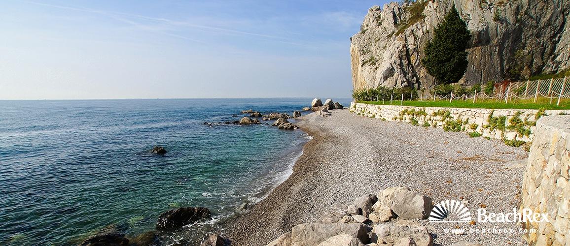 Italy - FriuliVenezia Giulia -  Sistiana - Beach Caravella