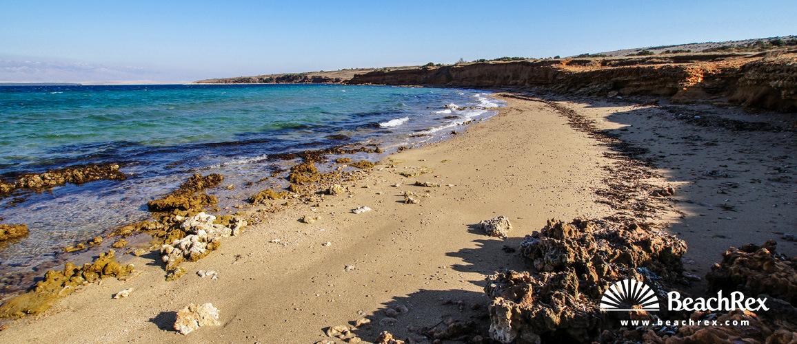 Croatia - Dalmatia  Zadar - Island Vir -  Lozice - Beach Crvenka