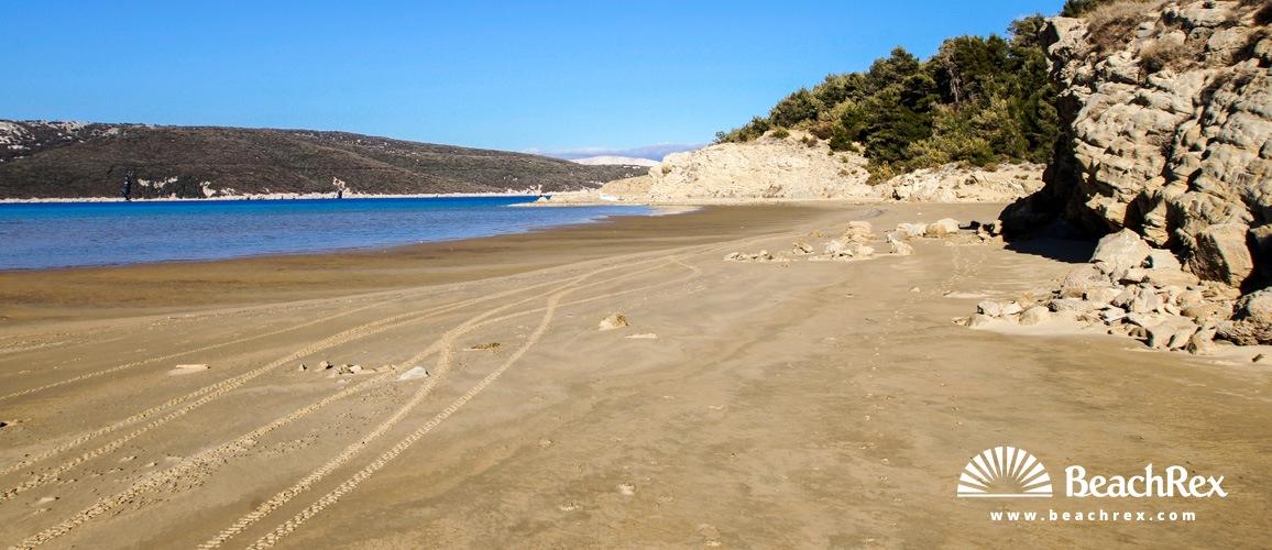 Croatia - Kvarner - Island Rab -  Lopar - Beach Sahara