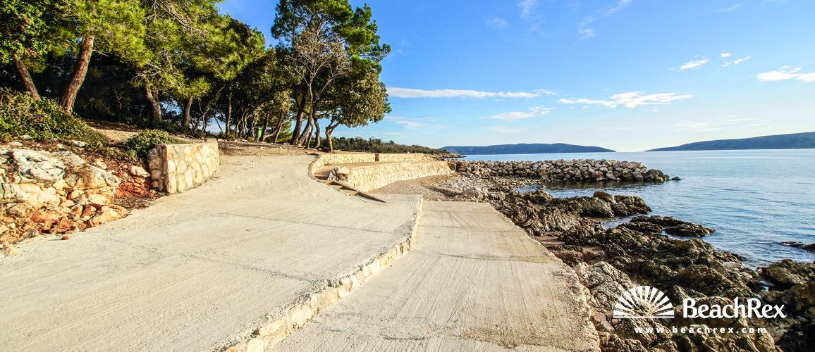 Croatia - Kvarner - Island Krk -  Pinezići - Beach Jert