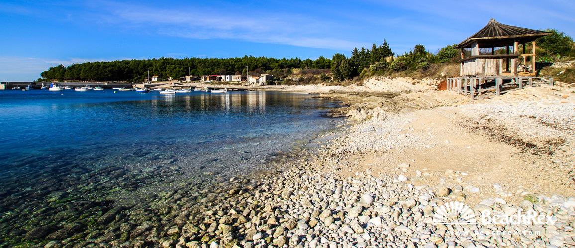 Hrvatska - Istra -  Premantura - Plaža Polje