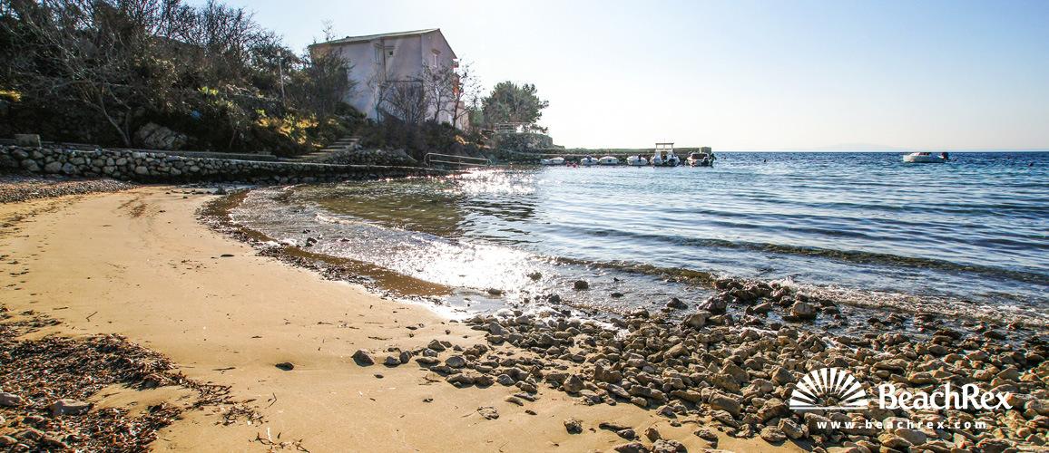 Croatia - Lika - Island Pag -  Potočnica - Beach Potočnica