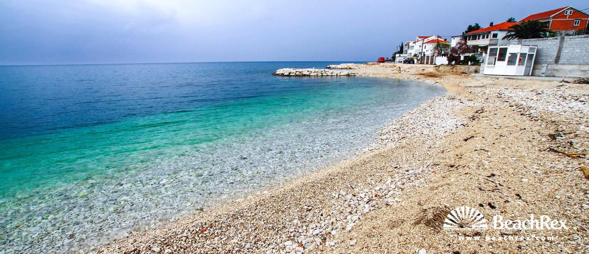 Croatia - Dalmatia  Split - Island Čiovo -  Arbanija - Beach Krčića