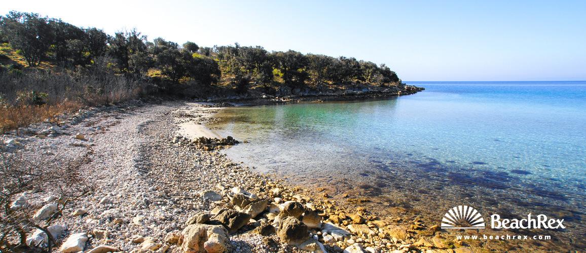 Croatia - Lika - Island Pag -  Jakišnica - Beach Tajana