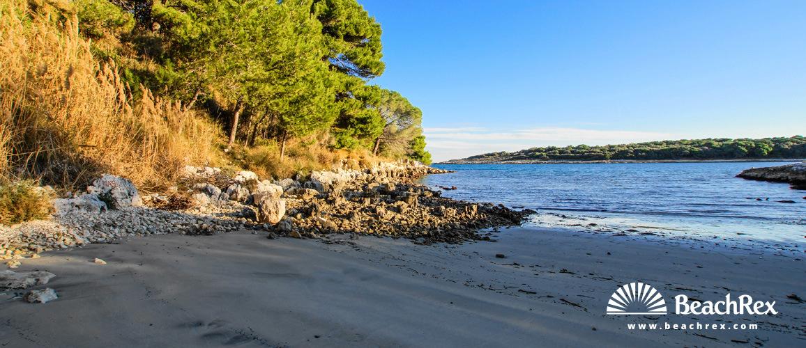 Croatia - Istra -  Premantura - Beach Mali Portić